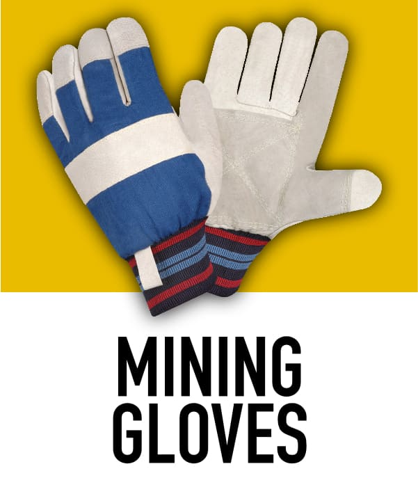 Leather Mining Gloves