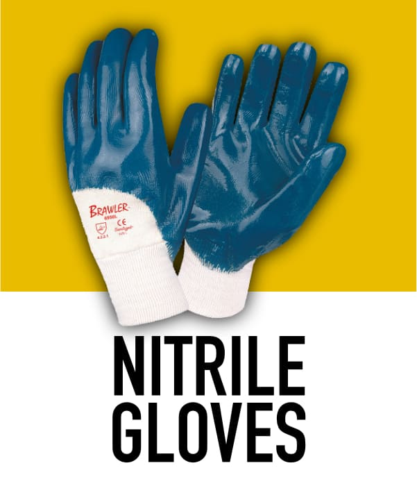 Nitrile Rubber Gloves