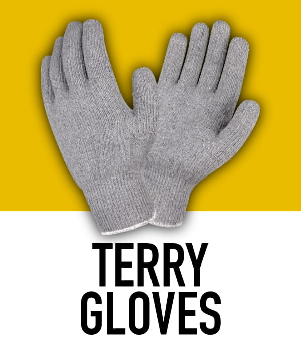 Cotton Terry Gloves