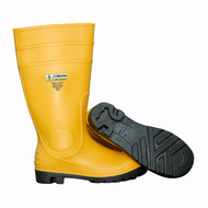 Cordova Yellow Steel Toe PVC Boot, Eva Insole, Cotton Lined, 16-Inch Length (Pair)