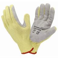 Cordova Power-Cor™ Kevlar® Gloves, 7-Gauge, Leather Palm, Cut Level 4 (Dozen)