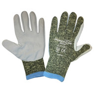 Cordova Power-Cor MAX™ Kevlar® Gloves, 10-Gauge, Leather Palm, Cut Level 4 (Pair)