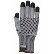 Cordova Monarch DOTS™ Gray TAEKI5® Gloves, Nitrile Dotted, 13-Gauge, Cut Level 3 (Pair)