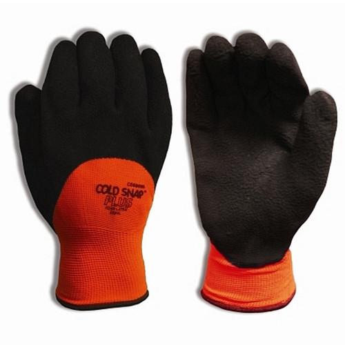 Cordova COLD SNAP PLUS™ Hi-Vis Orange Thermal Gloves, 13-Gauge, Two-Ply Liner, Latex Palm (Dozen)