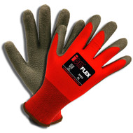 Cordova iON FLEX™ Hi-Vis Red Gloves, 13-Gauge, Latex Palm (Dozen)