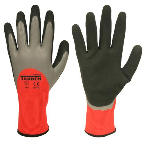 Cordova TANDEM™ Dual Layer Gloves, 15-Gauge, Latex 3/4 Coating (Dozen)
