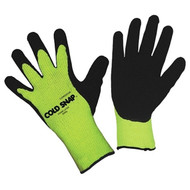 Cordova COLD SNAP™ Hi-Vis Green Thermal Glove, 7-Gauge, Acrylic Shell, Latex Palm Coating (Dozen)