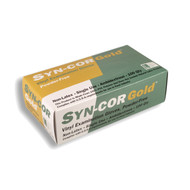 Cordova SYN-COR GOLD™ Exame Grade Vinyl Gloves, 5-MIL, Powder Free (Case of 1,000)