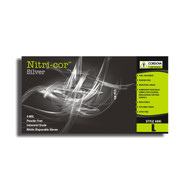 Cordova NITRI-COR SILVER™ Industrial Grade Nitrile Gloves, 4-MIL, Powder Free, Textured (Case of 1,000)