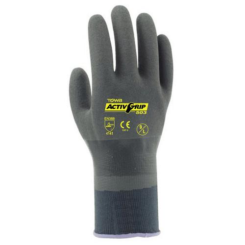 Cordova TOWA® ActivGrip™ Nitrile Coated Gloves, 13-Gauge, Nylon Shell (Dozen)
