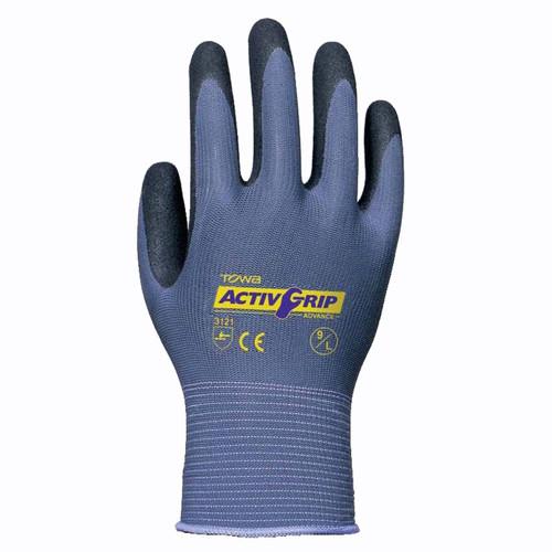 Cordova TOWA® ActivGrip™ Nitrile Coated Gloves, 13-Gauge, Nylon Shell, Purple (Dozen)