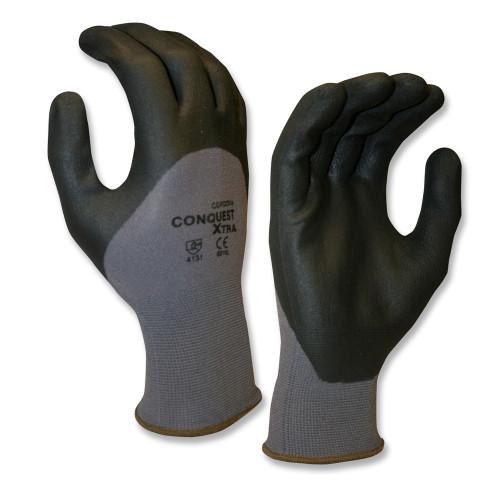 Cordova CONQUEST XTRA™ Nitrile Coated Machine Knit Gloves,  (Dozen)