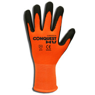 Cordova CONQUEST HV™ Nitrile Coated Machine Knit Gloves, Palm Coating (Dozen)