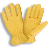 Cordova Premium Deerskin Leather Drivers Gloves, Unlined, Elastic Back, Keystone Thumb (Dozen)