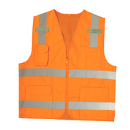 Cordova Class II Surveyors Vest, 2-Inch Reflective Stripes