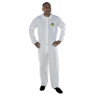 DEFENDER White Microporous Coverall (Case of 25)