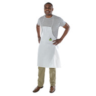 "DEFENDER II White Microporous Apron, 28"" x 36"" (Case of 100)"