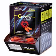 Cordova ENCORE™ Foam PU Ear Plugs, Corded, NRR 32 DB (Box of 100)