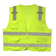 Class II Surveyors Vest, Lime