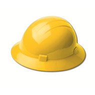 AMERICANA HEAT Full Brim Hard Hat, 4-Point Slide Lock Suspension
