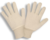 Natural 2-Piece Jersey Gloves, Knit Wrist (3 Dozen)