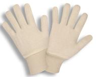 Natural 2-Piece Jersey Gloves, Knit Wrist, Ladies (Dozen)