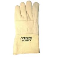 Premium Hot Mill Gloves, Burlap Lined, Gauntlet Cuff (Dozen)