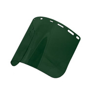 8168 Green IR Face Shield, Shade 5 (Case of 20)