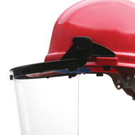 E15 Face Shield Bracket, FITS ALL CAPS (Case of 10)