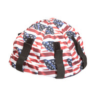 Lester Lid Hard Hat Liner, American Flag Design (Case of 12)