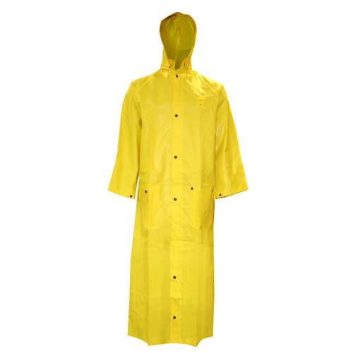 "Cordova DEFIANCE FR 2-Piece Rain Coat, 49"", Yellow"