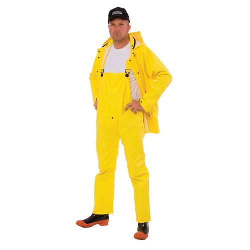 Cordova STORMFRONT 3-Piece Vented Rain Suit, .35mm Fabric, Yellow