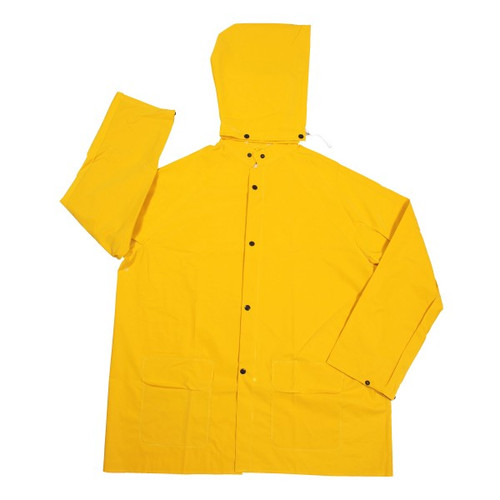 Cordova STORMFRONT 1-Piece Rain Jacket, .35mm Fabric, Yellow