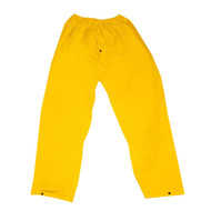Cordova STORMFRONT Rain Pants, Elastic Waist, .35mm Fabric, Yellow