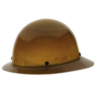 MSA Skullgard Full Brim Hard Hat, Fast-Trac Ratchet Suspension