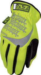 Mechanix Wear Safety FastFit HI-Viz Gloves, Yellow