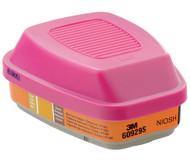 Mercury Vapor/Chlorine or Sulfur Dioxide Gas Cartridge P100 (Pack of 2)