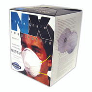 N95 Particulate Respirator, Valved (Case of 120)