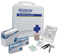 50 Person Plastic First Aid Kit - 50 ANSI