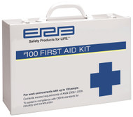 100 Person Premium Metal First Aid Kit - 100 ANSI