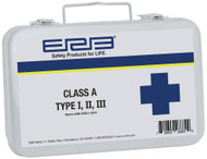 Class A  Type I, II, III Metal First Aid Kit