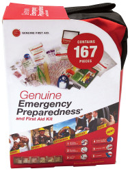 Emergency Preparedness & First Aid Kit