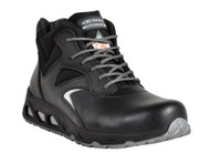 Oklahoma I/C EH PR Aluminum Toe Shoe, Full Grain Leather/Cordura, Black