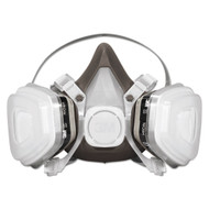 3M Half Facepiece Disposable Respirator Assembly, Each