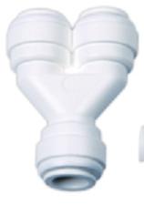 Reverse Osmosis 2-way Splitter Fitting