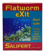 Salifert Flatworm Exit Treatment - Treats up to 300 Gallons to remove flatworms from aquarium