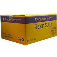 Reef Salt 25kg Box - Aquaforest for sps and lps corals in saltwater aquarium salt mix