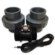 "FS-200 - Flow Monitoring Sensor 2"" with Unions - Neptune Systems"