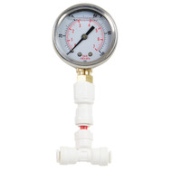 RO Liquid Filled Pressure Gauge 1-100 PSI