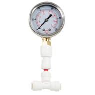 RO Liquid Filled Pressure Gauge 1-100 PSI
